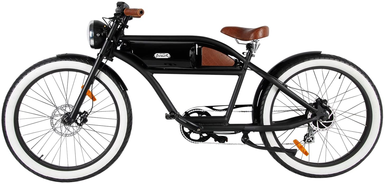 71SNuhMq9ZL. AC SL1500 T4B Greaser Retro Style Electric Bike