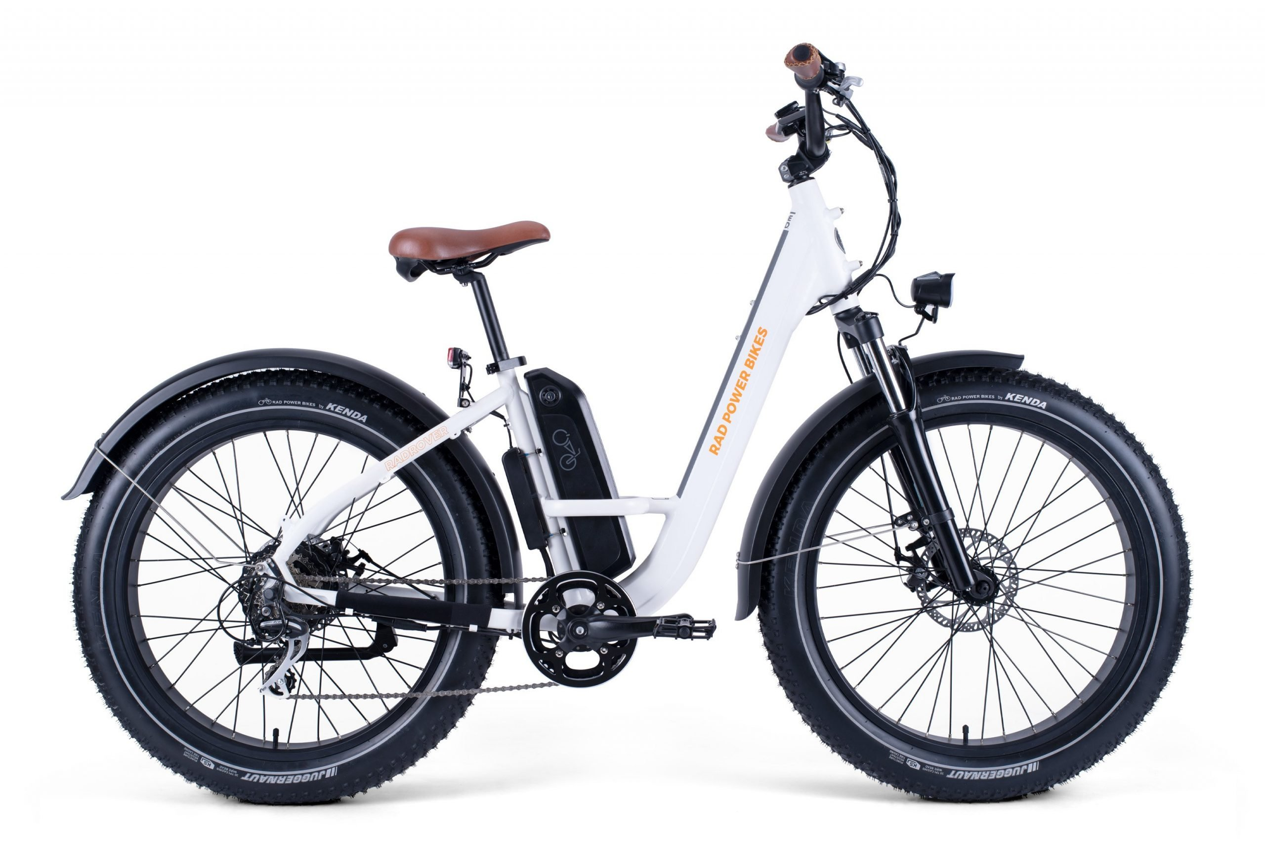 RadRover ST White Right Side View Web 1 scaled RadRover Step-Thru 1 Electric Fat Bike