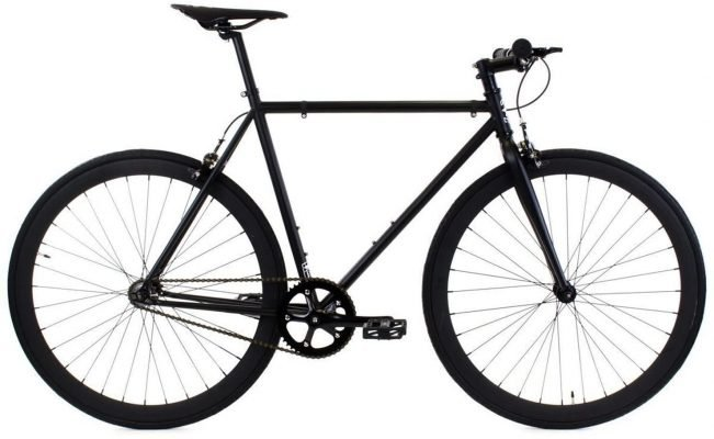 Golden Cycles Single Speed Fixed Gear Bike with Front & Rear Brakes - Best City Bike Under 500