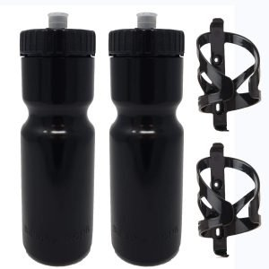 50 Strong Bike Bottle Holder with Water Bottle