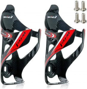 Wiel Full Carbon Fiber Bicycle Water Bottle Holder