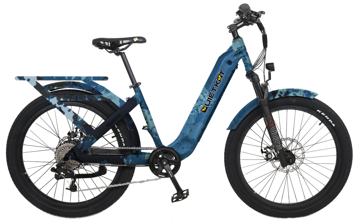 2021 Villager Poseidon Blue A Selection of Top 500w Electric Bike Options
